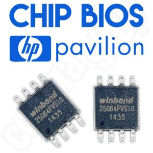 Bios Notebook Hp G4-1120br Chip Gravado Original