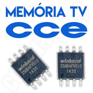 Memoria Flash Tv Cce 144 (D) Chip Gravado