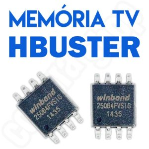 Memoria Flash Tv Hbuster 42l05fd U205 Tela Lw5 Chip Gravado