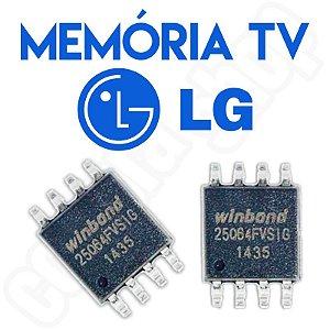 Memoria Flash Tv Lg 39ln549c Ic301 Chip Gravado