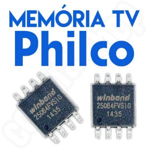 Memoria Flash Tv Philco Ph22s31d (A) Chip Gravado