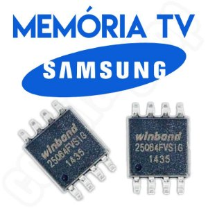 Memoria Flash Tv Samsung Un40eh6030g Ic601 Placa Tcon Chip Gravado