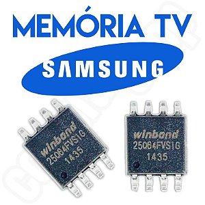 Memoria Flash Tv Samsung Un40eh6030g Ic801 Chip Gravado