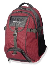 """Mochila Para Notebook 15,6"""" Swiss Vermelha Multilaser - BO38"""