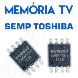 Memoria Flash Tv Semp Le3974af Chip Gravado
