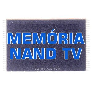 Memória Nand Tv Samsung Un32d5500 Un40d5500 Un46d5500 K9gag08u0e Chip Gravado