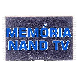 Memória Nand Tv Samsung Un46d5500 K9gag08u0e Chip Gravado Atualizado