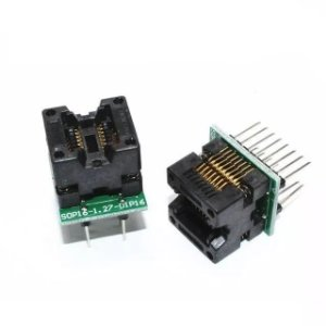 Adaptador Eprom Flash 16 Pinos Socket Soi16 Sop16 150mil