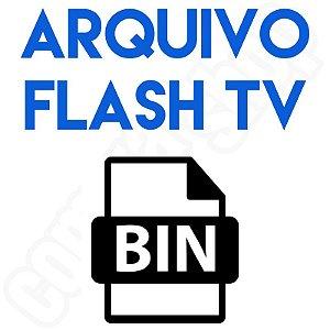 Arquivo Para Ser Gravado na Memória Flash de Televisores