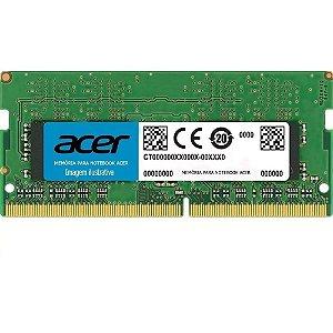 Memória Notebook Acer 8gb Ddr3 Pc-10600 1333mhz 1.5v