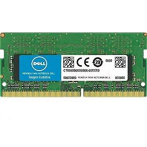 Memória Notebook Dell 4gb Ddr3 Pc-10600 1333mhz 1.5v
