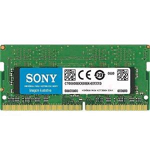 Memória Notebook Sony Vaio 4gb Ddr3 Pc-10600 1333mhz 1.5v