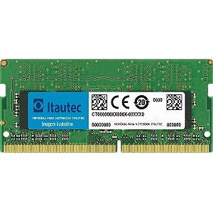 Memória Notebook Itautec 4gb Ddr3 Pc-10600 1333mhz 1.5v