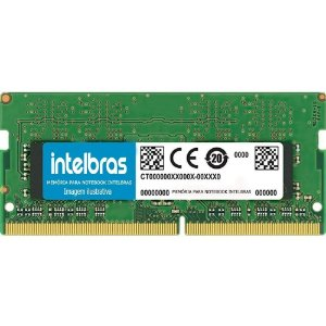 Memória Notebook Intelbras 4gb Ddr3 Pc-10600 1333mhz 1.5v