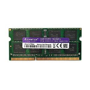 Memória Ram 4gb Ddr3 Pc3l-12800 1600mhz 1.35v Notebook e Mac