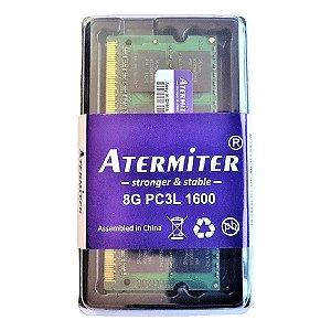 Memória 8gb Ddr3 Pc3l-12800 1600mhz 1.35v Notebook e Mac