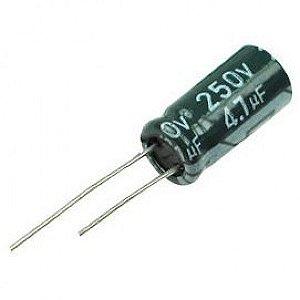 Capacitor Eletrolítico 4.7uf 250v