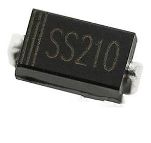 Diodo Smd Ss210 S210 Sr2100 Sr210 2a 100v