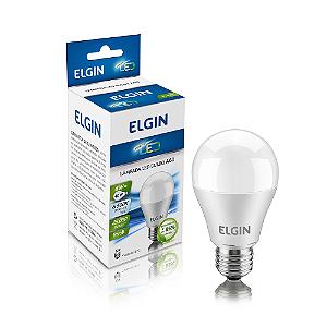 Lâmpada LED Bulbo Elgin E27 6W A60 Branco Frio 6500K Bi