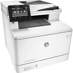Multifuncional HP Color Laserjet Pro M477fnw Laser Color CX 1 UN
