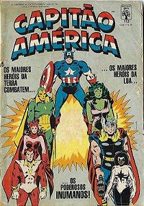 Capitão América - 112 - Formatinho - Vingadores contra os Inumanos