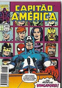 Capitão América - 183 - Formatinho - Apresento.. Os novos Vingadores