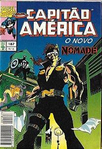 Capitão América - 187 - Formatinho - O novo Nômade