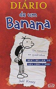 Diário de Um Banana 1 (Português) Capa dura – USADO