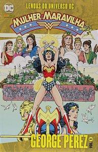 Lendas do Universo DC: Mulher Maravilha - Volume 1 (Português) Capa Comum – George Pérez (Autor) - NOVO