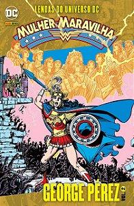 Lendas do Universo DC: Mulher Maravilha - Volume 2 (Português) Capa Comum – por George Pérez (Autor) - NOVO