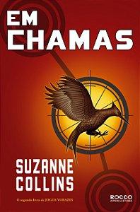 """""""Em Chamas"""" por Suzanne Collins  - Livro USADO"""