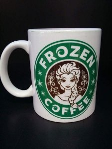 Caneca Frozen coffee