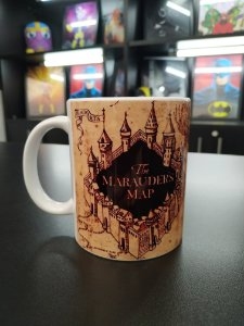 Caneca Mapa do Maroto (Harry Potter)