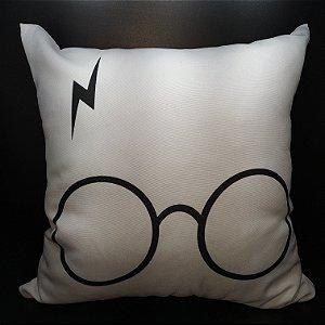 Almofada Óculos e Raio - Harry Potter
