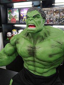 Escultura Hulk Verde Folha