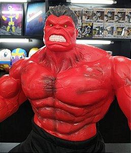 Escultura Hulk Vermelho
