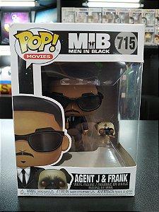 Funko Pop Agent J & Frank 715