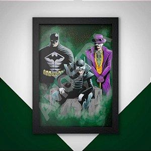 Quadro Batman & Coringa