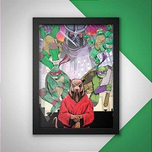 Quadro Tartarugas Ninjas