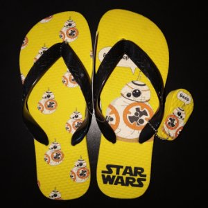 Chinelo BB8 (Star Wars)