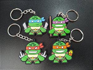 Chaveiro Tartarugas Ninjas