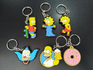 Chaveiros The Simpsons