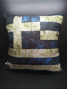 Almofada Bandeira da Grécia