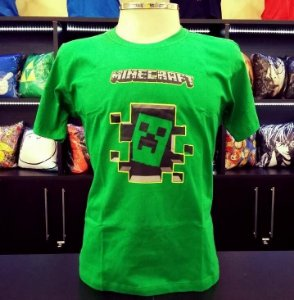 Camiseta Minecraft 3D