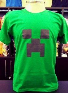 Camiseta Creeper - Minecraft