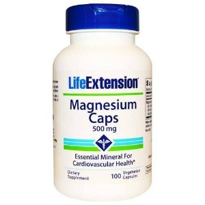 Magnesium Caps, Life Extension - 500mg, 100 Caps