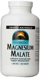 Magnesium Malato, Source Naturals, 1250 mg, 360 Tablets