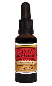 Iodo de Lugol Com Iodeto de Potássio, J. Crows, 30 ml