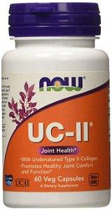 UC-II® Colágeno Tipo II, Now Foods, 60 Cápsulas