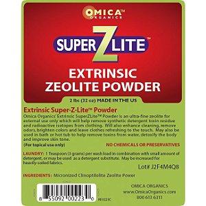 Zeolite em Pó, SuperZLite Extrinsic, (32 oz)